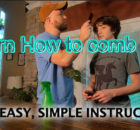 How to Thursday.... Learn how to Comb your hair.  Easy Instructions 4